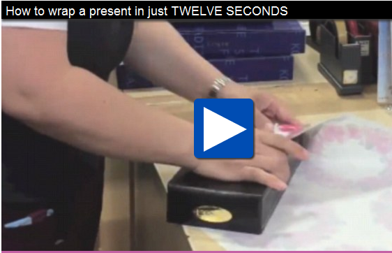 12-second Wrapping Video