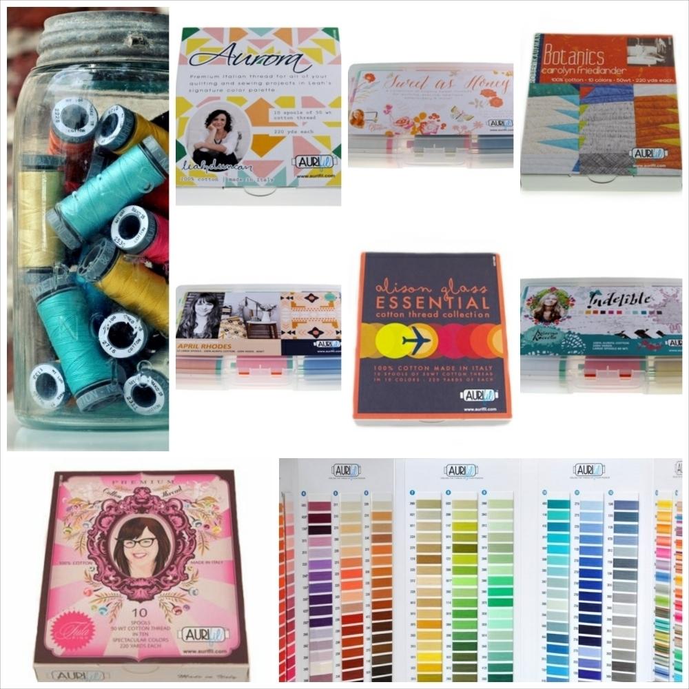 Aurifil Thread Kits