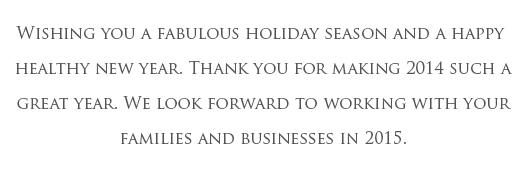 Happy Holiday Text