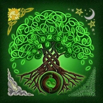 Celtic Tree Mandala