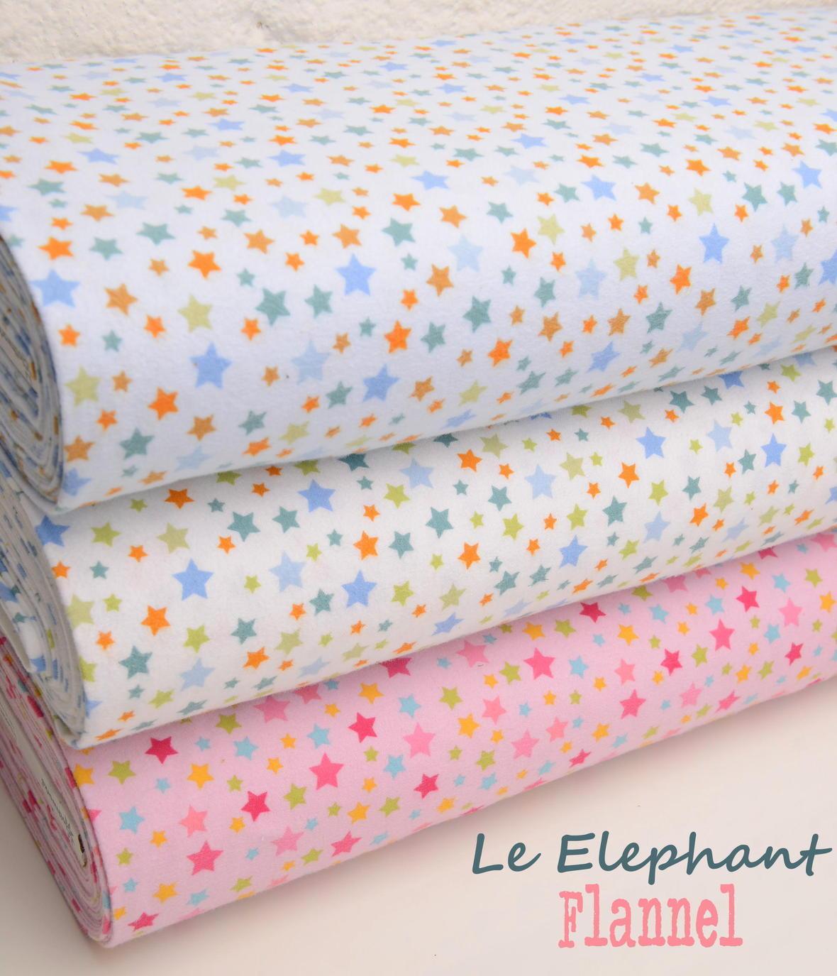 Le Elephant Flannel