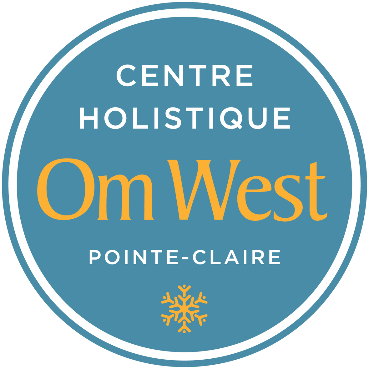 Om West Official logo January