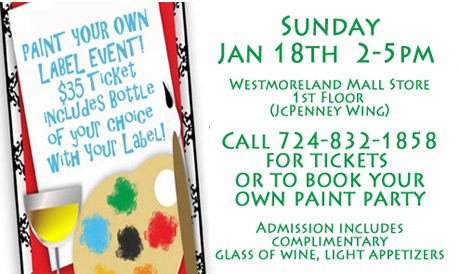 Paint Your Own Wine Label + Dan Good Day + White Party + 10