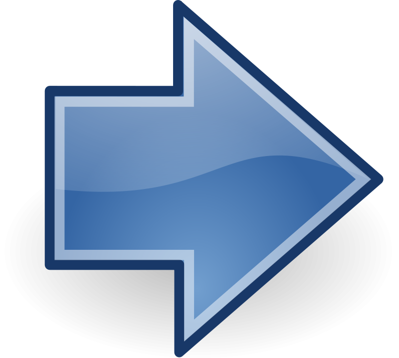 blue arrow left