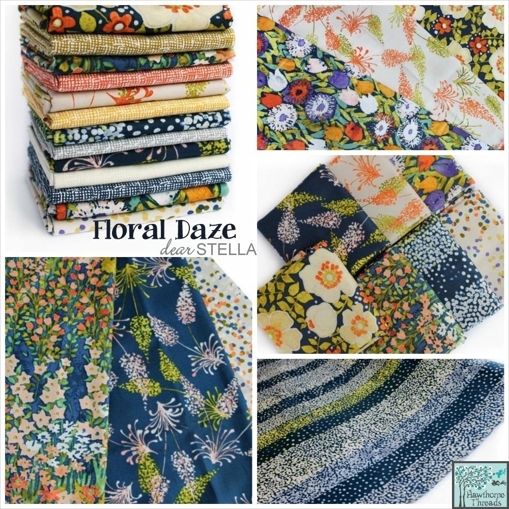 Floral Daze Fabric Poster