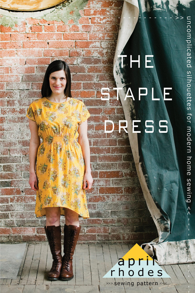 april rhodes the staple dress sewing pattern