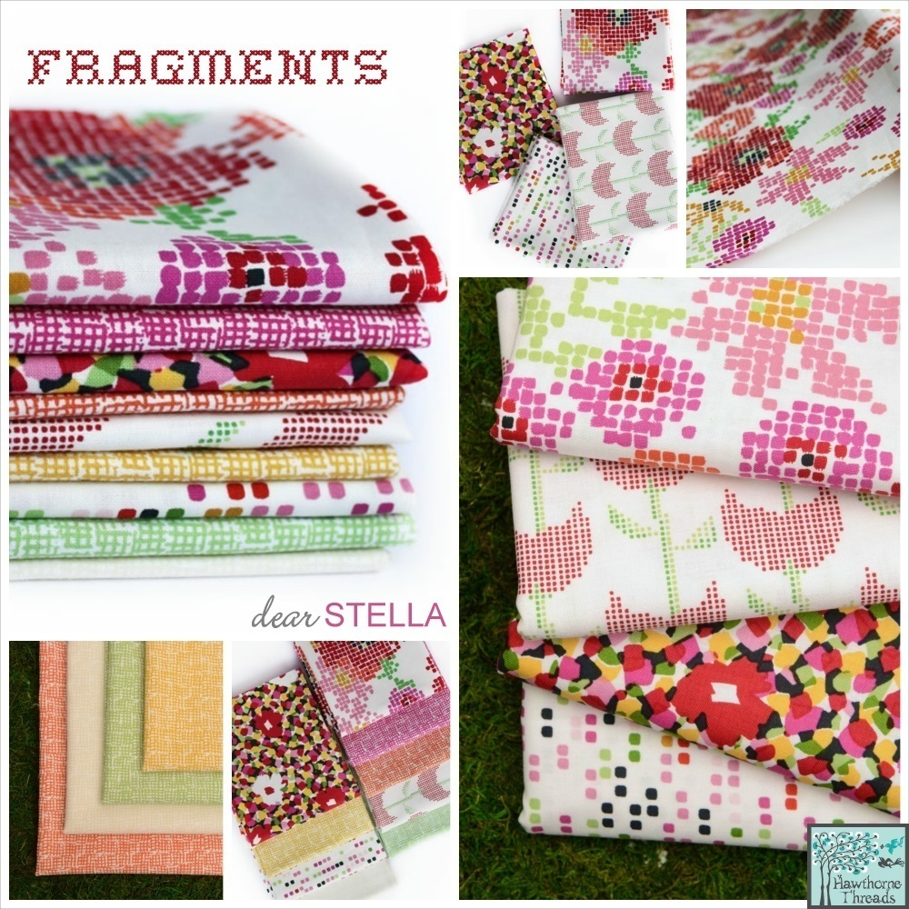 Fragments Fabric Poster