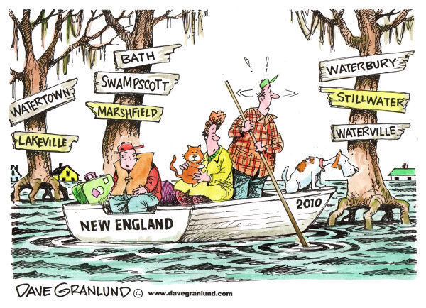 new england flood