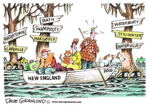 new england flood