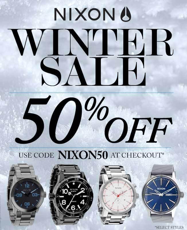 Nixon WinterSale2015-email1