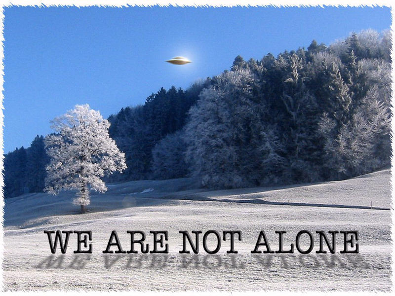 We are not alone - UFO
