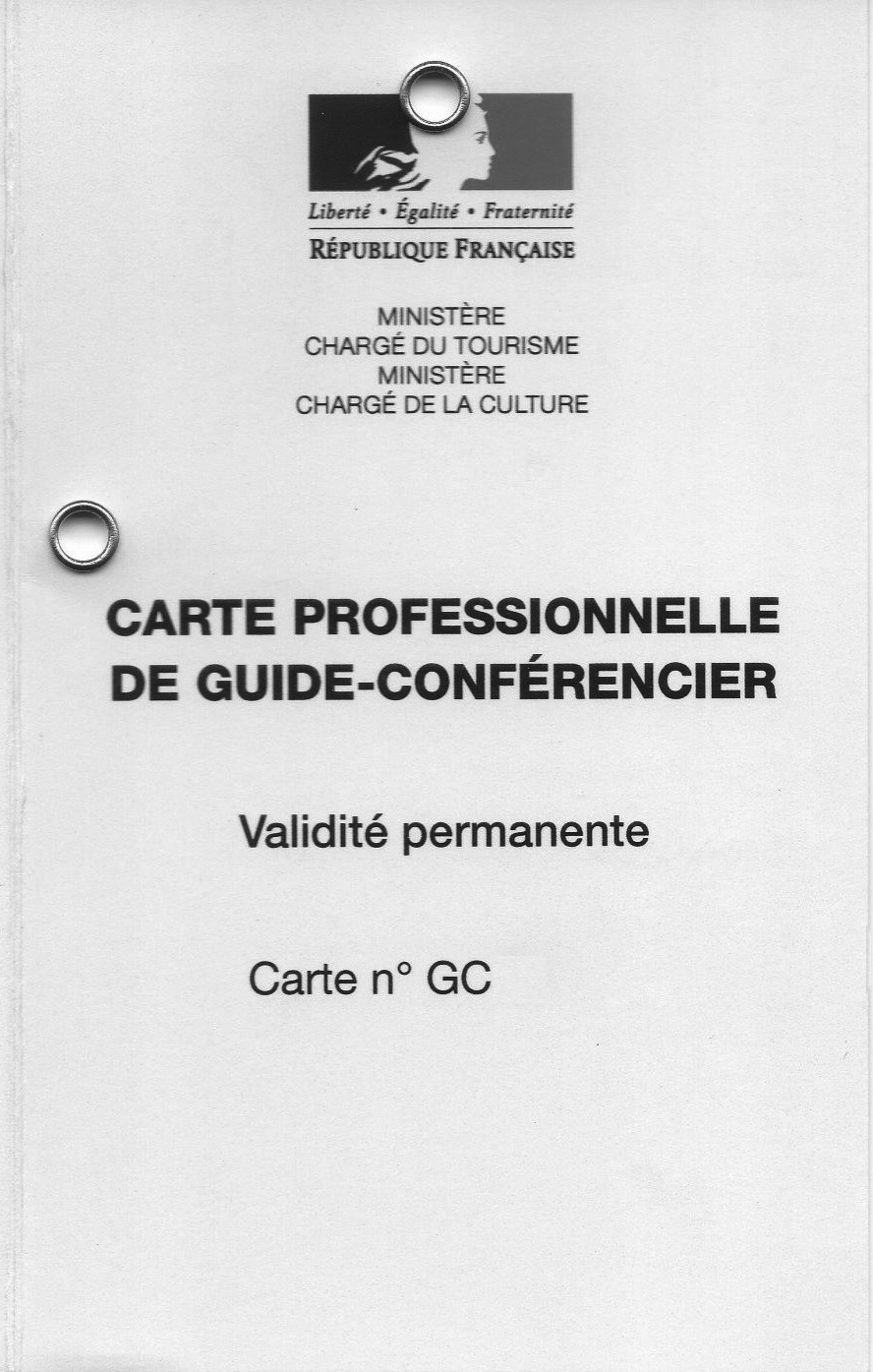 carte de guide recto NB
