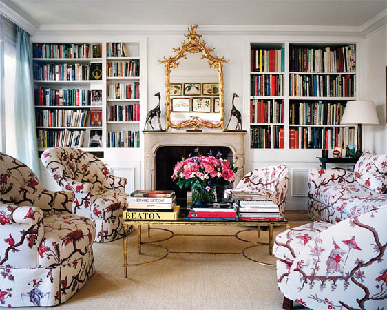 Chinoiserie Fabric Chairs Interior Decor Trend 2015 Lee Radiwill Home