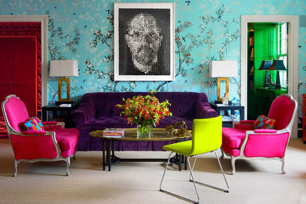 Modern Chinoiserie Living Room Decor ByMiles Redd Interior Desgin