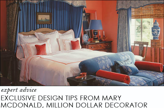 exclusive design tips from mary mcdonald star of bravo tv million dollar decorators