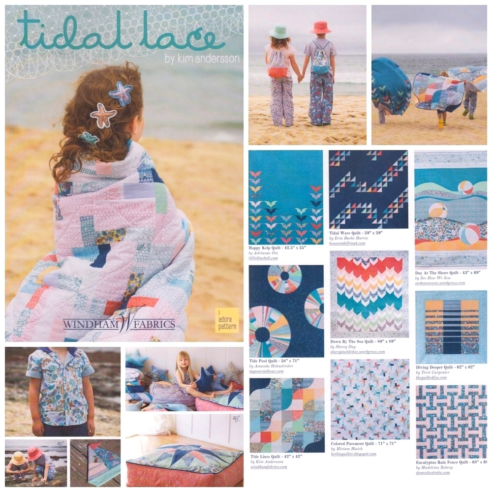 Tidal Lace Fabric Inspiration