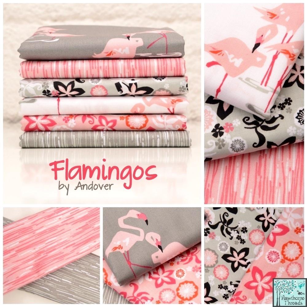 Andover Flamingos Poster 2