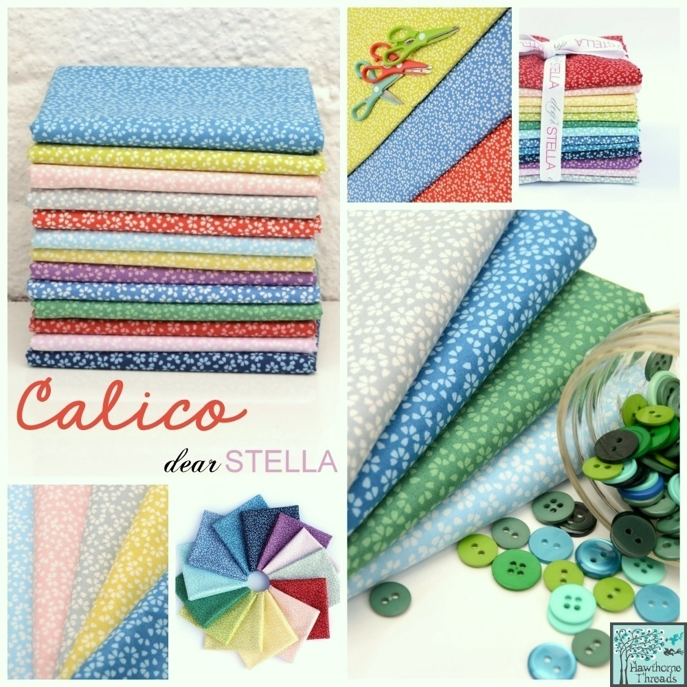 calico fabric poster