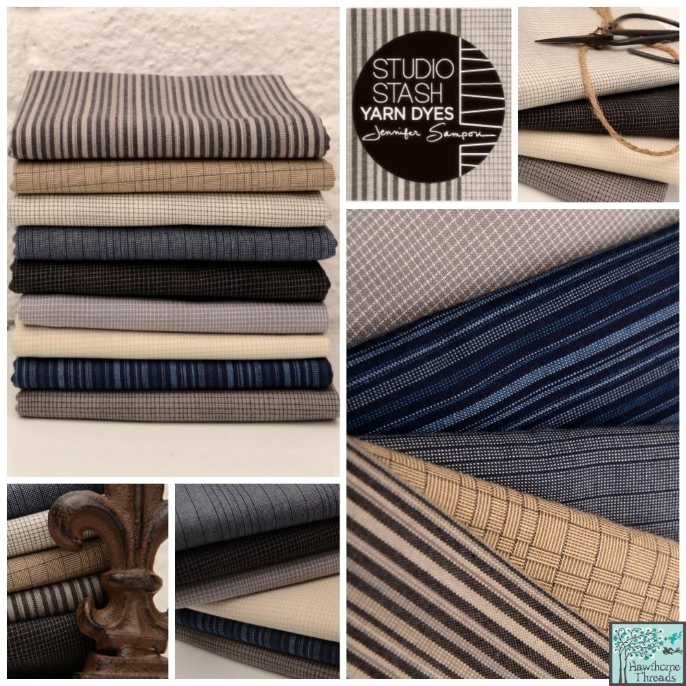 Studio Stash Yarn Dyes Fabric