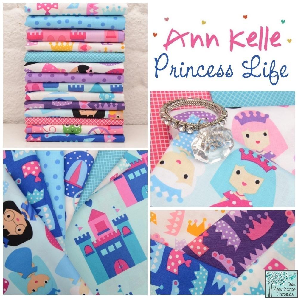 Princess Life Fabric Poster