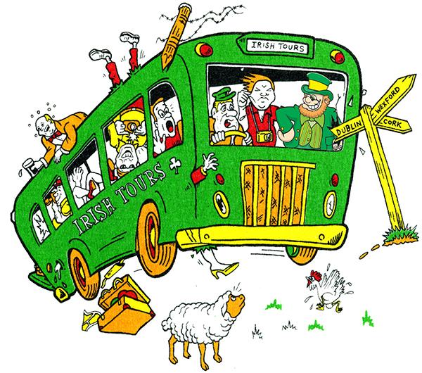 Irish Tours with Leprechaun-smaller