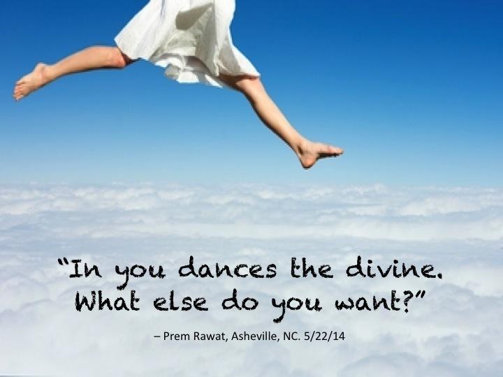 Dances the divine