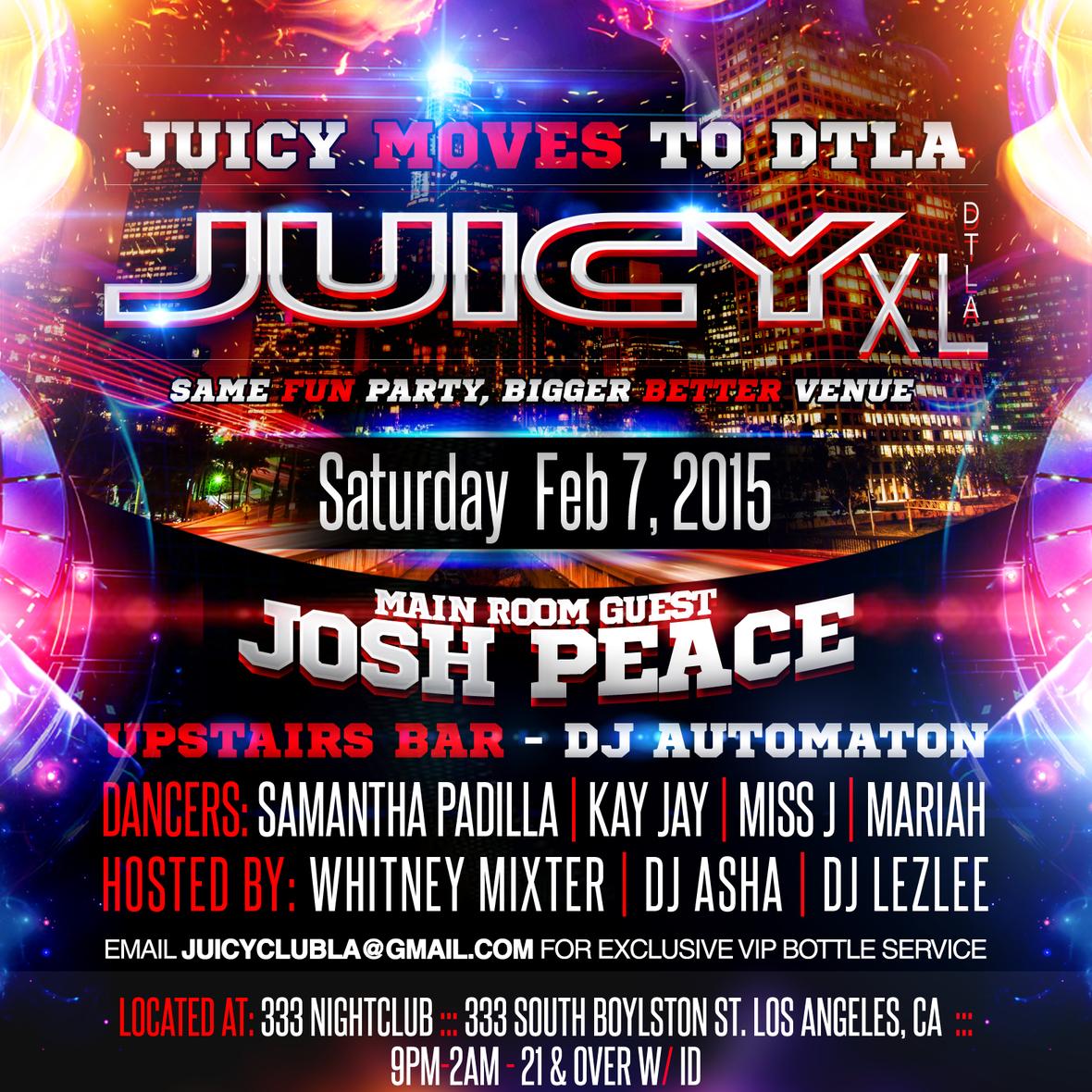 Juicy 333 Flyer