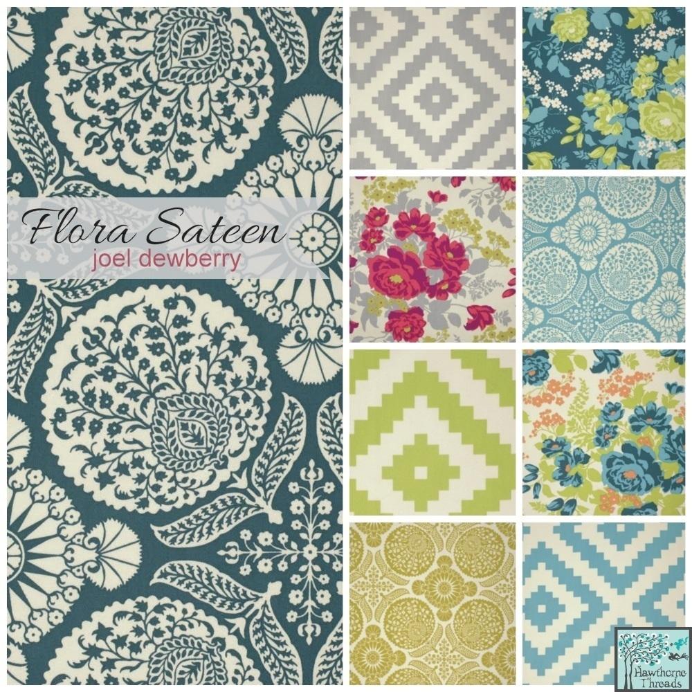 Flora Sateen Poster