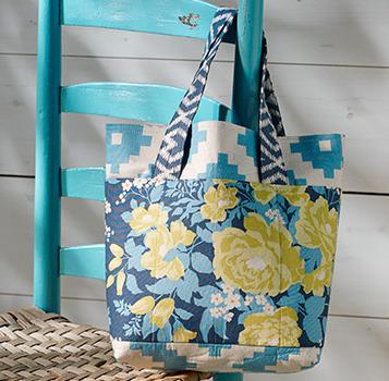 Flora Sateen Bag