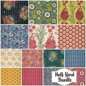 2867 folk song half yard bundle