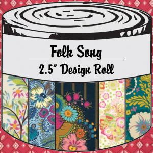 2876 folk song 25 inch design roll