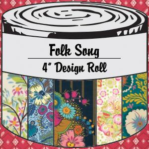 2875 folk song 4 inch design roll