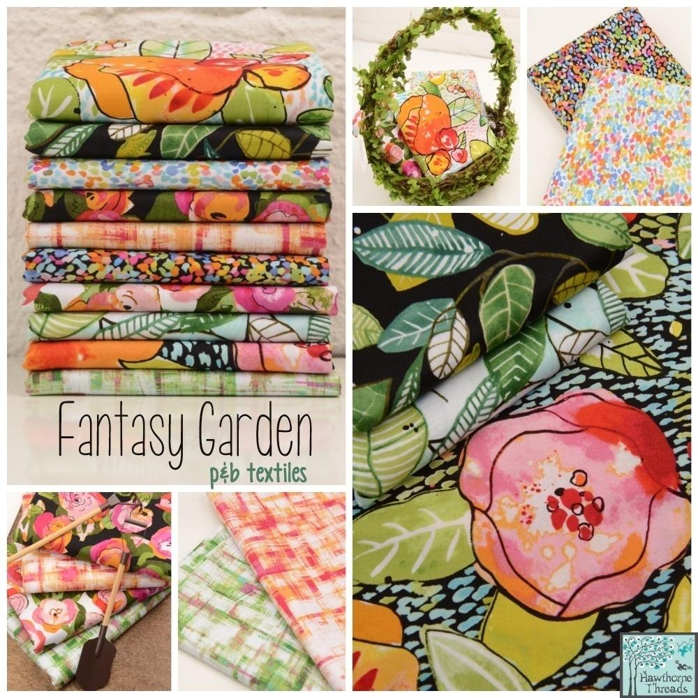 Fantasy Garden Fabric Poster