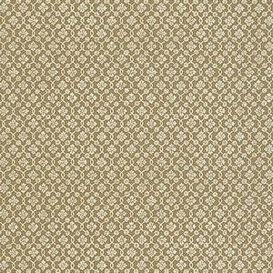 Schumacher Harbury Trellis Sepia Wallpaper