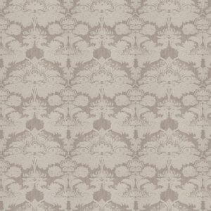 Stroheim CIVRAY DAMASK Grey Fabric