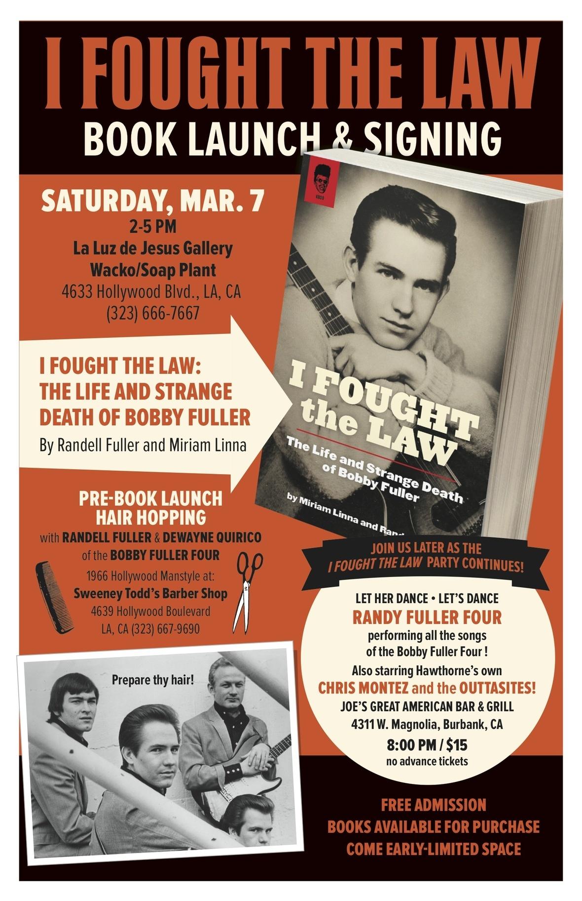 Fuller book launch poster