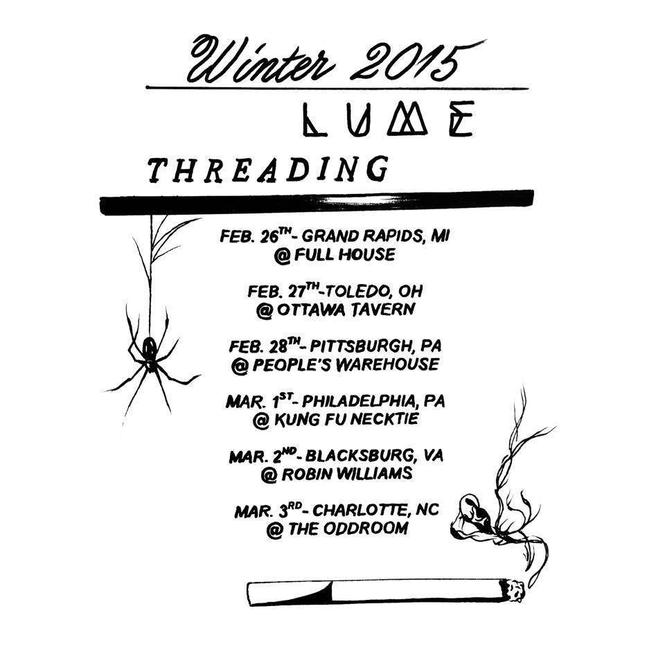threading tour dates
