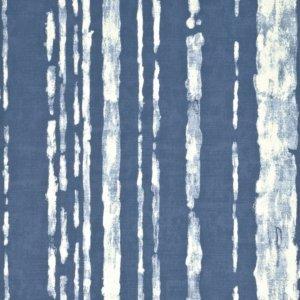 Threads ARTISAN STRIPE INDIGO Wallpaper