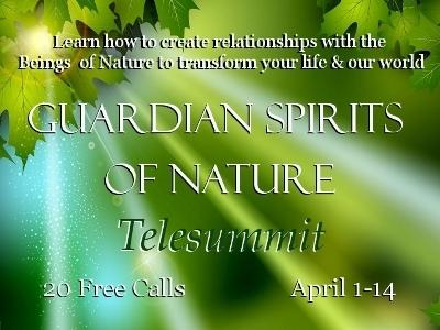 Guardian Spirits of Nature telesummit Box ad- 400x300
