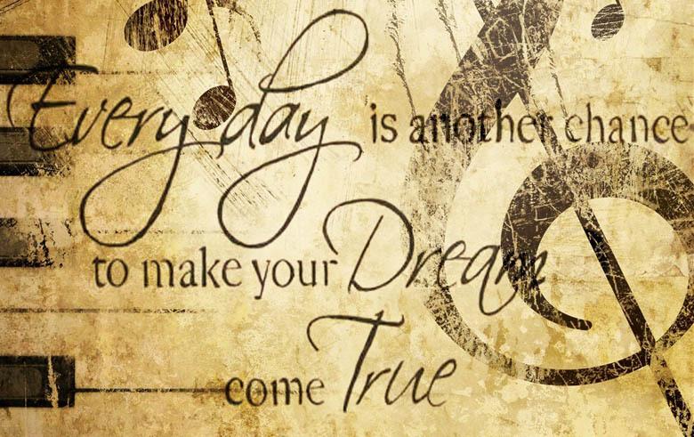 Dream como true