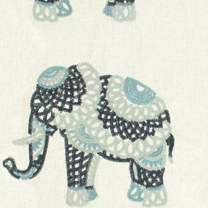 Kravet ELEPHANT STITCH INDIGO Fabric