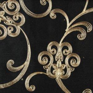 Duralee 32196-101 JET Fabric