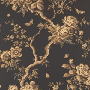 Ralph Lauren ASHFIELD FLORAL TOBACCO Wallpaper