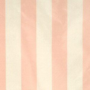 Scalamandre CORNWALL STRIPE PINK AND CREAM Fabric