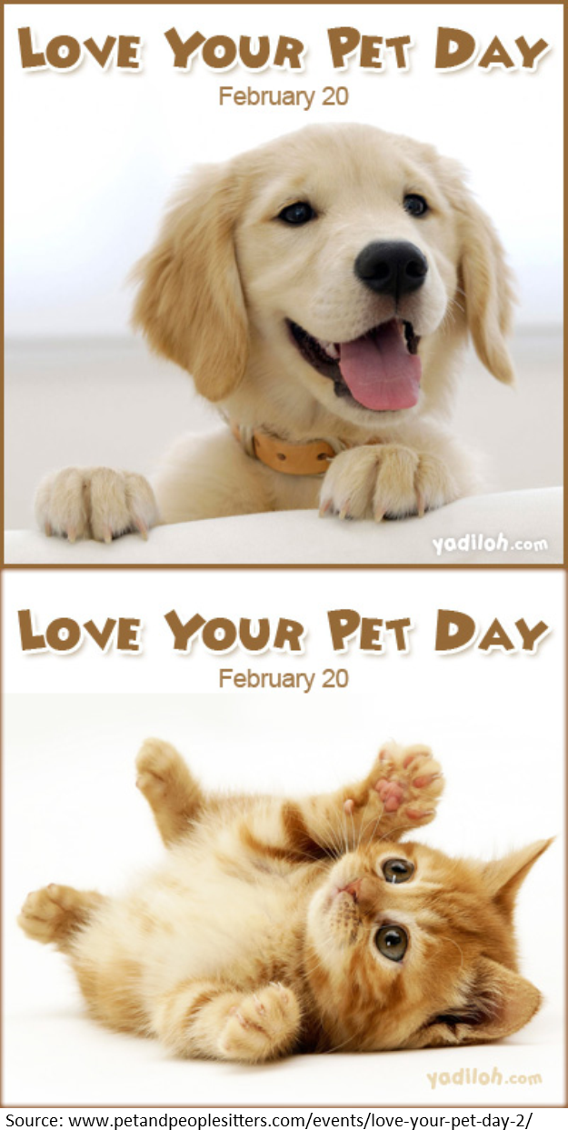 happy love your pet day have you heard of it