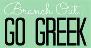 Branch Out Go Greek