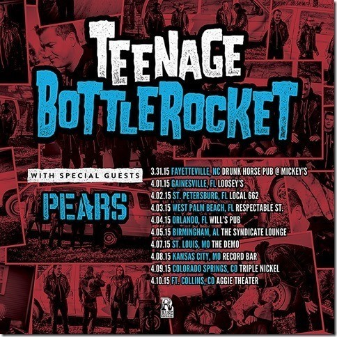teenage bottlerocket headline dates