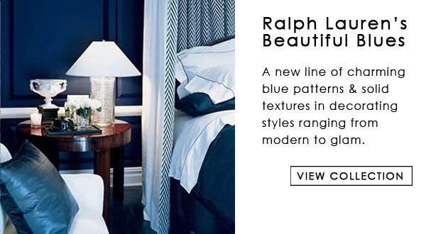 Ralph Lauren Blue Book III Fabric Collection Interior Decor