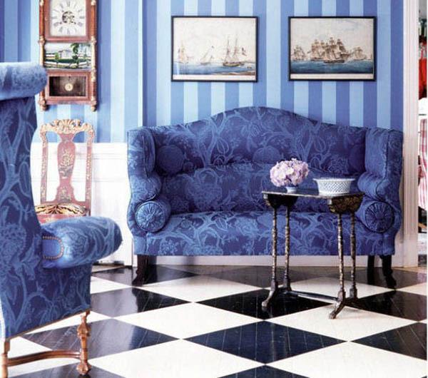Blue Interior Decor