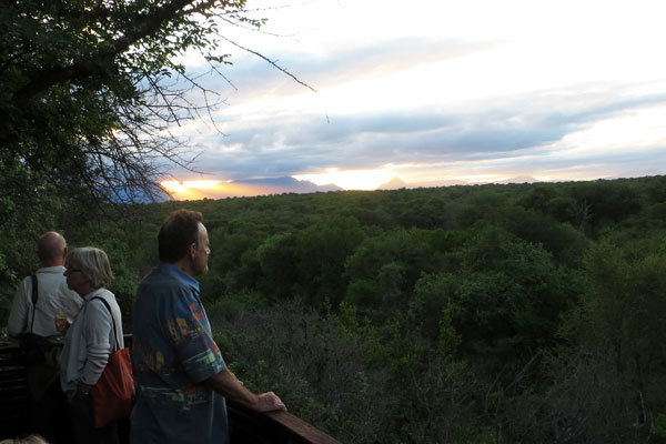 tented camp sundowners